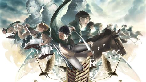 wallpaper illustration anime shingeki  kyojin