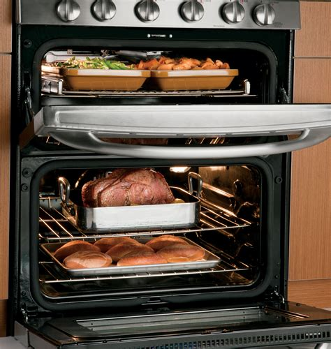 cooking options as with new ge oven gas