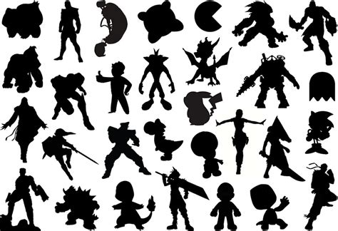 Find The Gaming Silhouettes Quiz