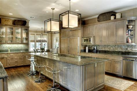giant kitchen  center stove island bar stools cuisine en ilot island kitchen