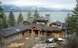 Mountain Home Taking Shape On Lake Pend Oreille – Mountain ...