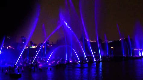 water light show