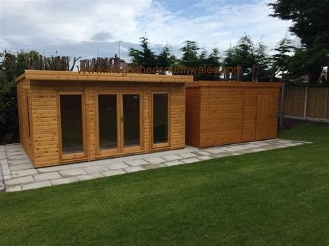 insulated timber garden room prestatyn north wales