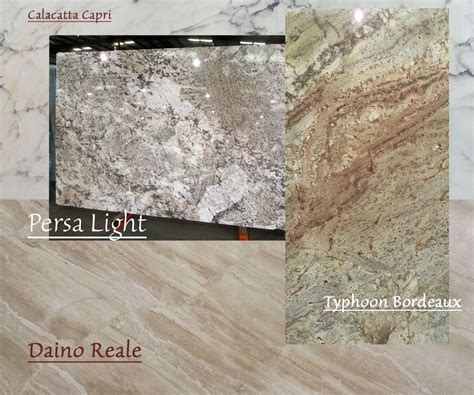 exotic granite  marble countertop colors