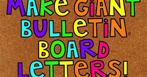 bulletin board letters how to make bulletin board letters bulletin board 16197