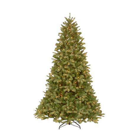 fake tree with lights 10 ft feel real downswept douglas fir artificial