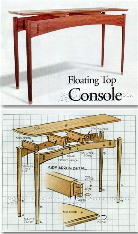 furniture hall table images  pinterest