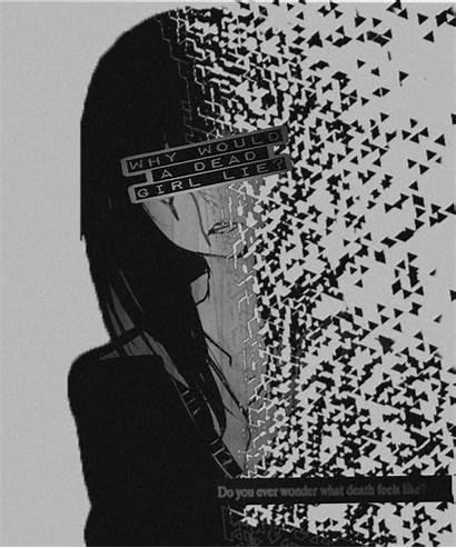 Sad Aesthetic Anime Depressed Broken Dark Depression