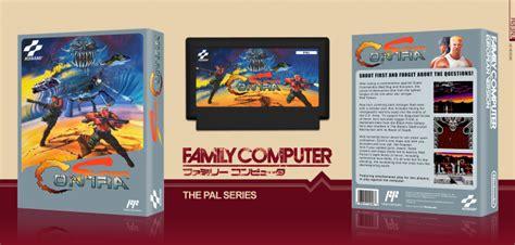 Super Contra Famicom Nes Box Art Cover By Kneph