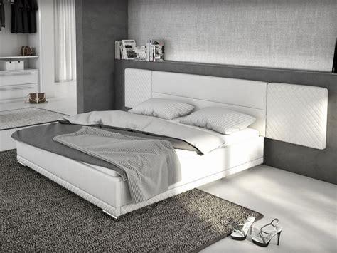 couleur canapé lit 180x200 cm simili blanc lorik