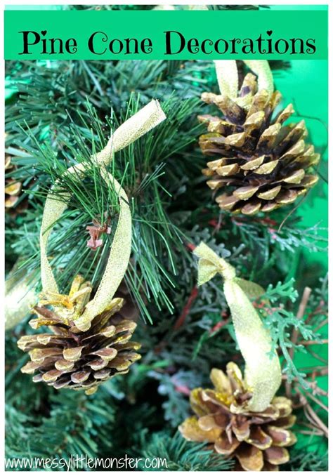 pine cone tree decorations trees and