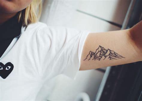 1000 ideas about mountain tattoos on tattoos