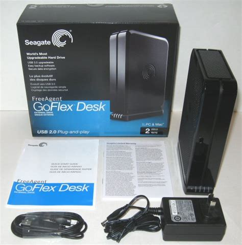 Seagate Freeagent Desktop Power Supply Specs by Cdrlabs Seagate 2tb Freeagent Goflex Desk External