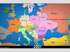 Timelapse video shows constantly changing borders in