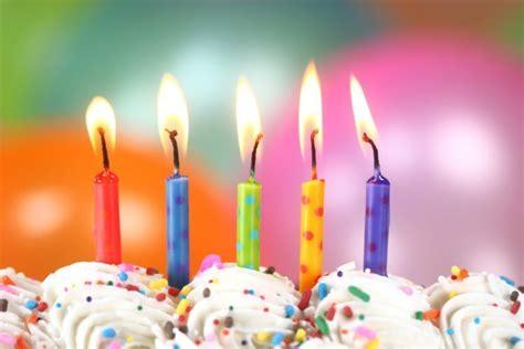dads genius method  blowing  birthday candles