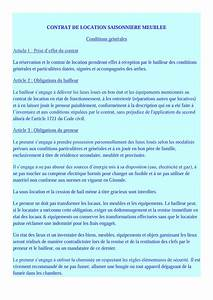 contrat de location non meuble pdf 3 doc resiliation With contrat de location non meuble pdf
