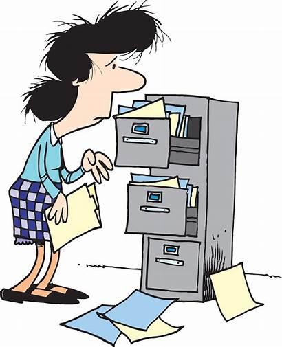 Clipart Cabinet Clip Cartoon Filing Royalty Cliparts