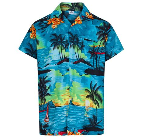 themed shirts mens hawaiian shirt aloha themed party shirt