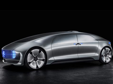 Mercedes-benz Driverless Car Spotted Cruising The Streets