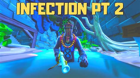 escape infection chapter   juxi fortnite