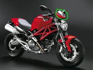 Monster 696 Instrument Panel Cover  - Ducati Ms