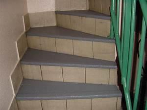 Antidérapant Pour Des Escaliers Extérieurs : revetement liquide antiderapant ~ Melissatoandfro.com Idées de Décoration