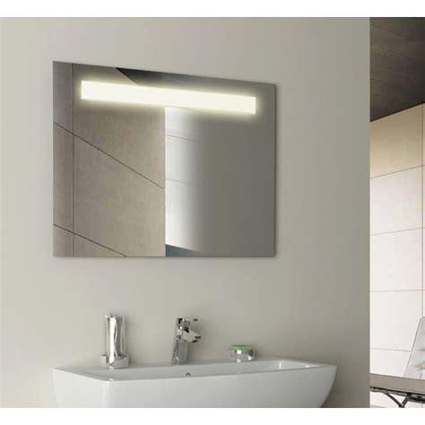 Bathroom Mirrors Illuminated by Gem Rectangular Illuminated Mirror Buy At Bathroom City