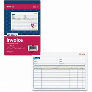 adams invoice forms hardhostinfo With adams invoice dc5840