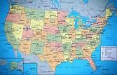 Mapa de Estados Unidos - TurismoEEUU