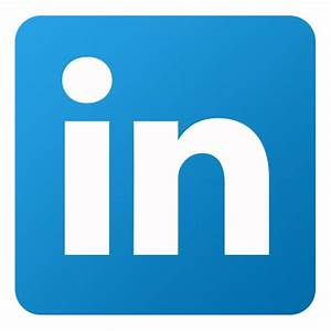Linkedin Icon | Flat Gradient Social Iconset | limav