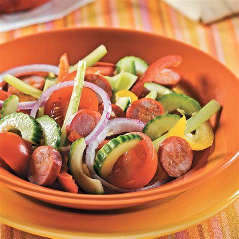 cuisine andalouse salade andalouse au chorizo recettes cuisine et