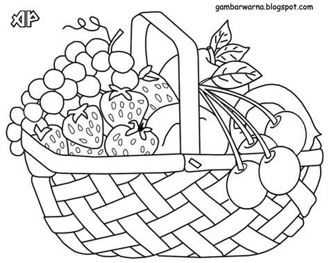 sketsa gambar buah buahan 3d