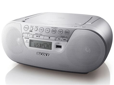 radio cd mp3 avec port usb sony zs ps30cp blanc top achat