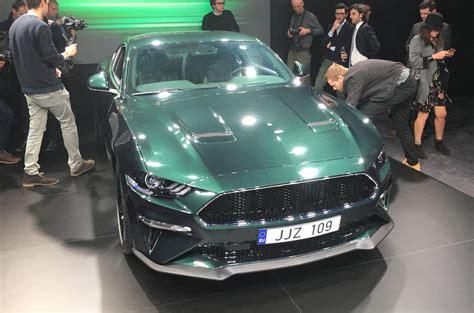 Ford Mustang Bullitt Confirmed For Europe