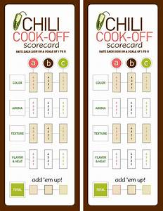 Free Printable Chili Cook Off Award Certificate Template Gallery
