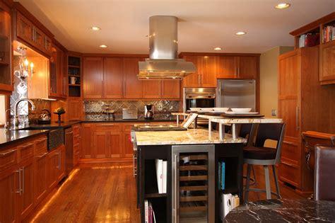 kitchen island with breakfast bar mn custom kitchen cabinets and countertops custom