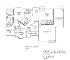 simple hill house plans placement 1000 images about garage back room layout on