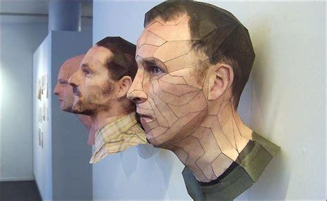 amazing  paper sculptures  bert simons amusing planet
