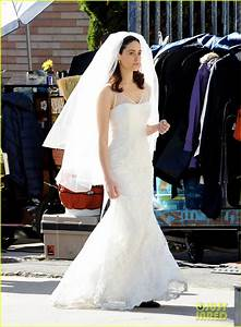 emmy rossum makes for a gorgeous bride for 39shameless With emmy rossum wedding dress