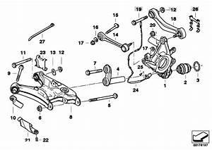 Original Parts For E39 M5 S62 Sedan    Rear Axle   Rear Axle