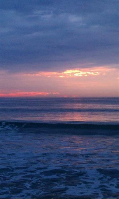 Salisbury Dawn Waves Sea