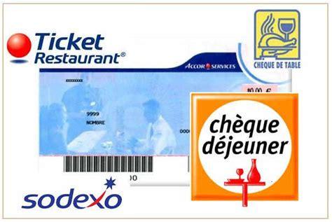 Carte Ticket Restaurant Astuce by Vers Une D 233 Mat 233 Rialisation Possible Des Tickets Restaurant