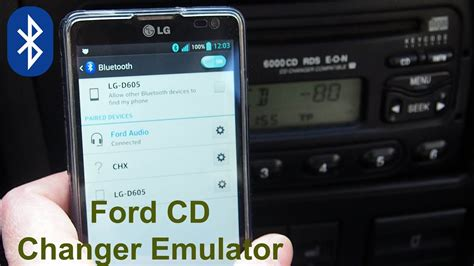 ford cd changer emulator  bluetooth functions