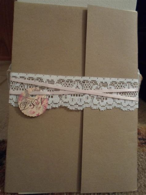 lace wedding invitation wraps by loveforlace on etsy 0