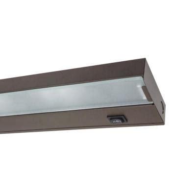 home depot under cabinet lighting nicor 30 in xenon black under cabinet light fixture