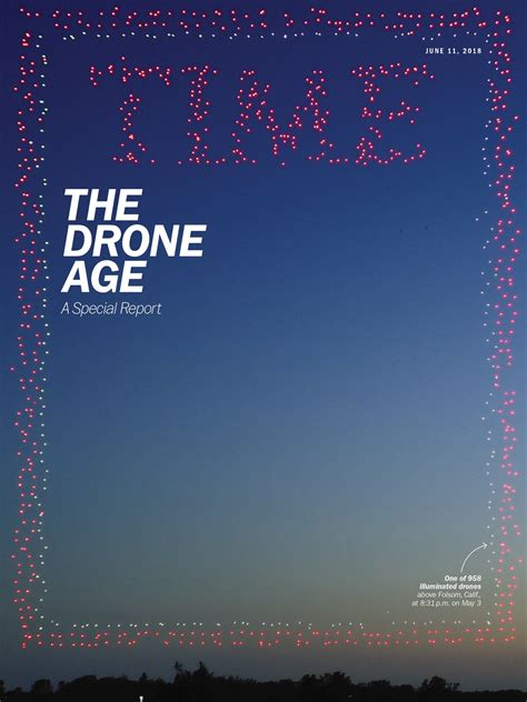 TIME Magazine recreates its iconic cover with 958 drones ...