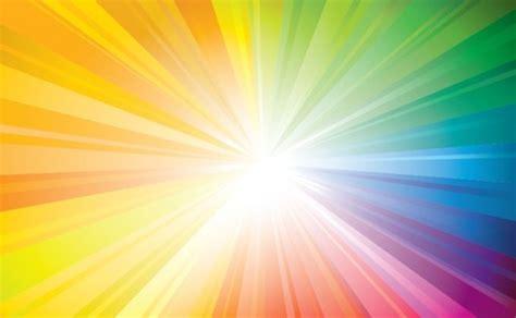 raggio  sole colorato  piccoli raggi vettore gratis