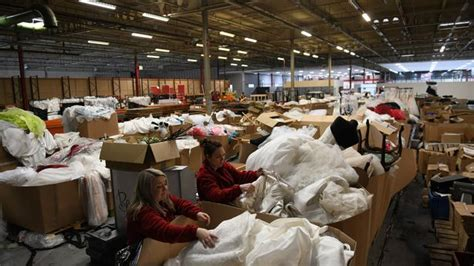 A Warehouse Is Selling Off 20,000 Wedding Dresses And