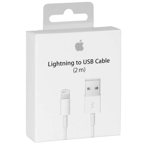 Apple Lightning To Usb Cable (2m