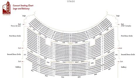 fox theatre detailed seating chart brokeasshomecom
